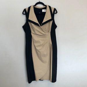 Cocktail knee length dress